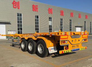 2019 NEW PRODUCTS! SKELETON SEMI TRAILER MADE BY ROBOT