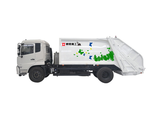GARBAGE COMPRESSION TRUCK