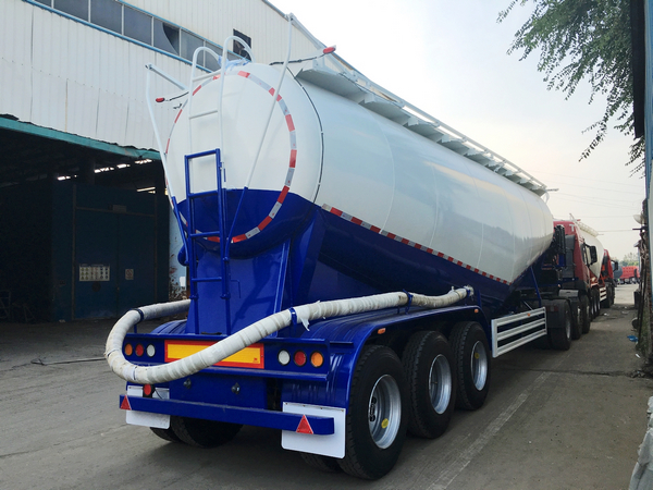 BULK CEMENT TANKER SEMI TRAILER