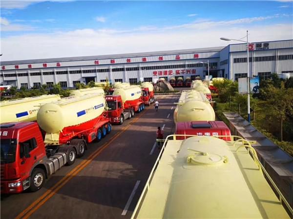 SALES NO. 1 -- BULK CEMENT TANKER SEMI TRAILER