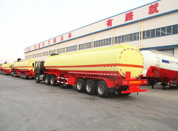 FUEL TANKER SEMI TRAILER EXPORT TO AFRICA