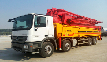 SPECIAL DISCOUNT PRICE-52M CONCRETE BOOM PUMP